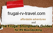 Frugal RV Travel